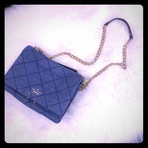 KATE ♠️ SPADE Denim quilted Handbag crossbody